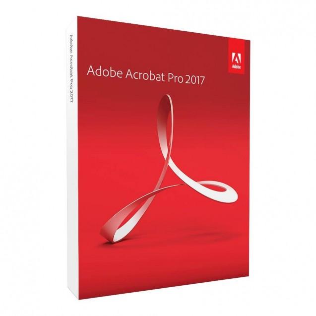 Acrobat Pro 2017 - Windows