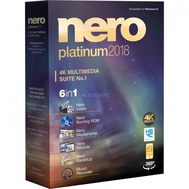NERO Nero Platinum 2018